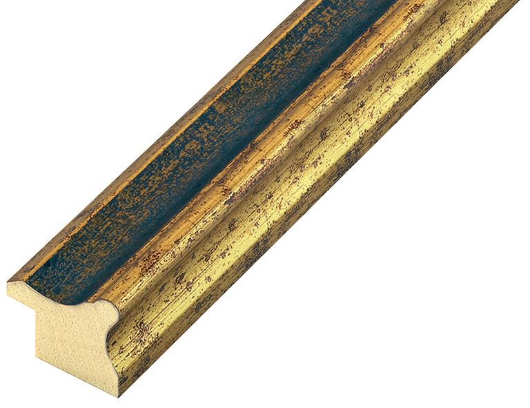 Straight sample of moulding 256BLU