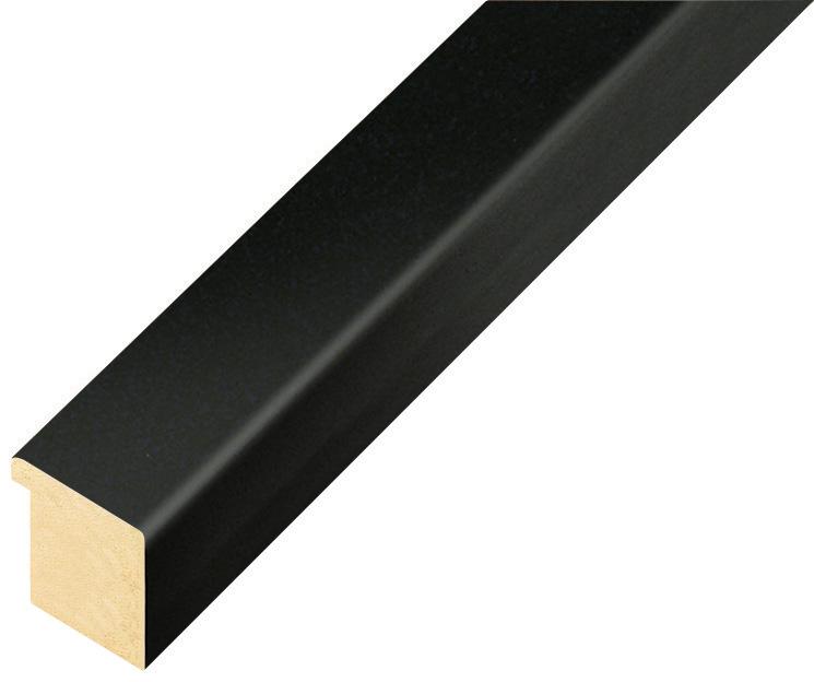 Corner sample of moulding 26NERO