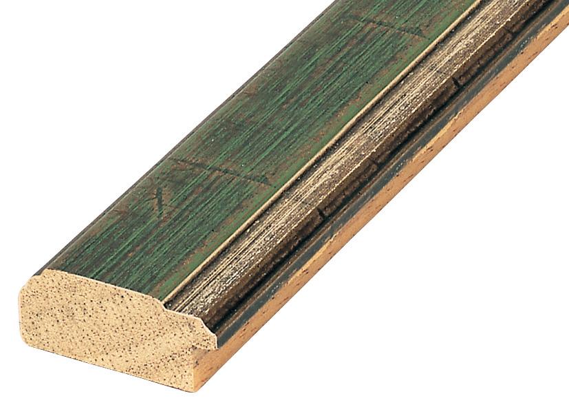 Straight sample of moulding 285VERDE