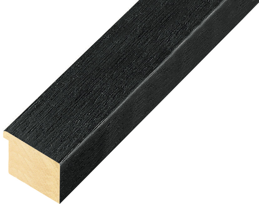 Straight sample of moulding 127NERO