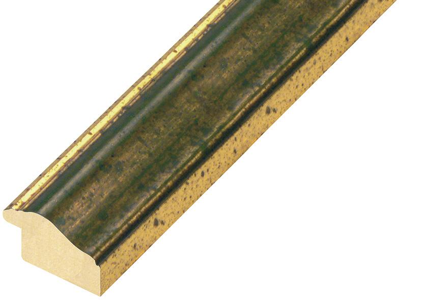 Straight sample of moulding 321VERDE