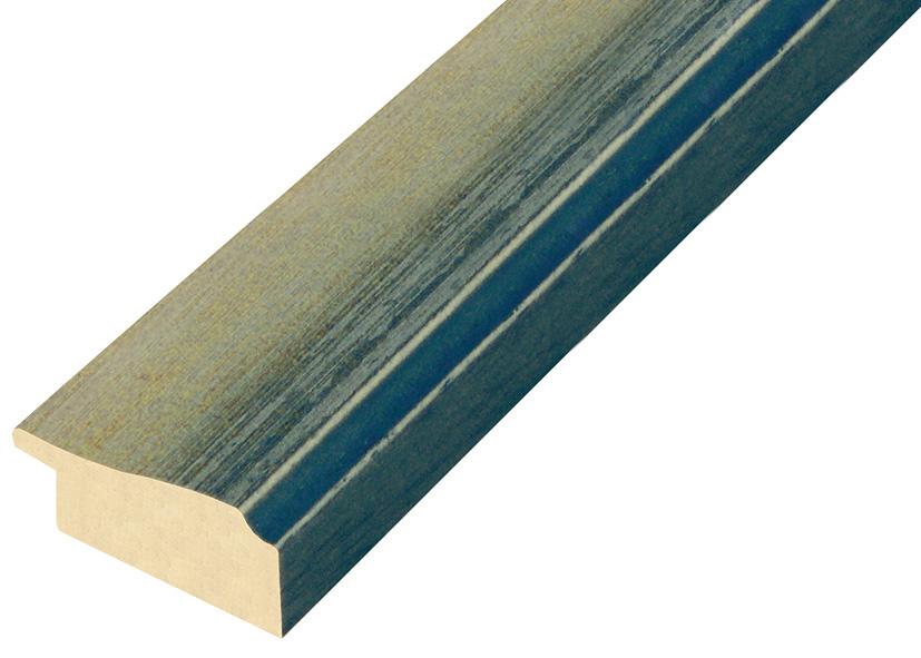 Straight sample of moulding 387ACQUA