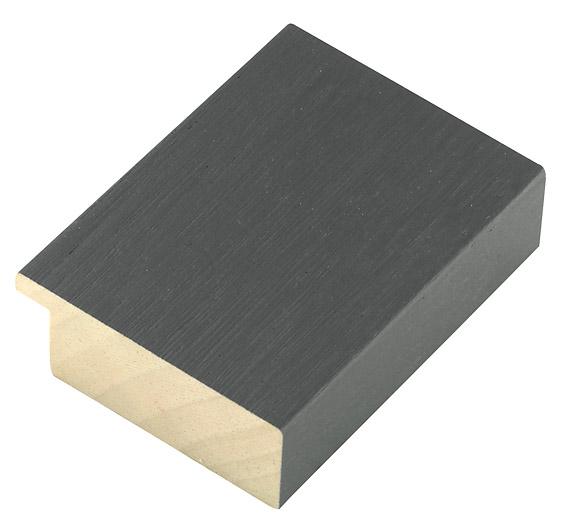 Straight sample of moulding 52GRIGIO