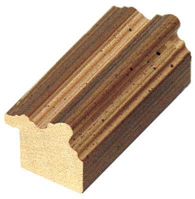Corner sample of moulding 542ORO