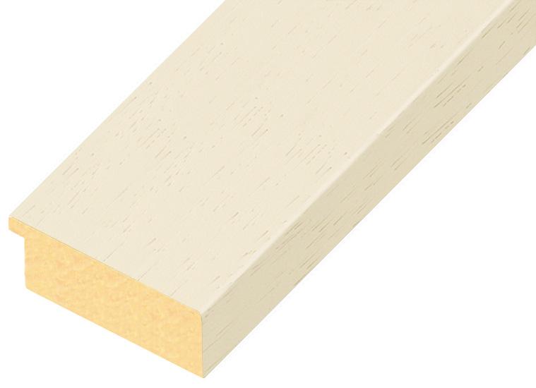 Corner sample of moulding 60CREMA