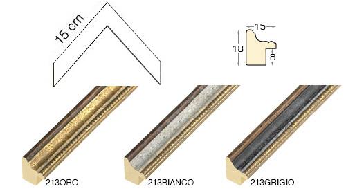 Complete set of corner samples of moulding 213
