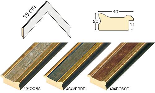 Complete set of corner samples of moulding 364