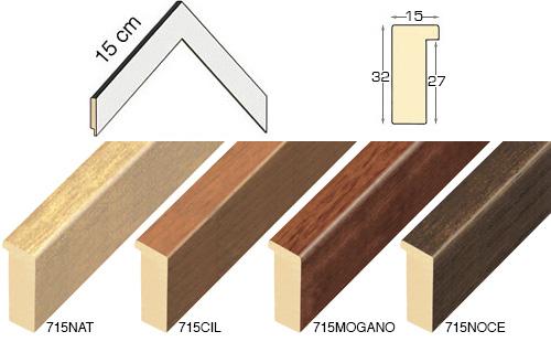 Complete set of corner samples of moulding 715