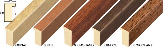 Corner sample of moulding 608NAT