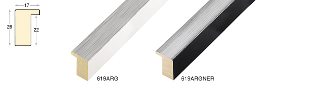 Complete set of straight samples of moulding 619 (1 pieces)