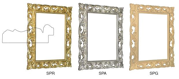 Cornici per specchi rinaldin cornici for Cornice 50x70 brico