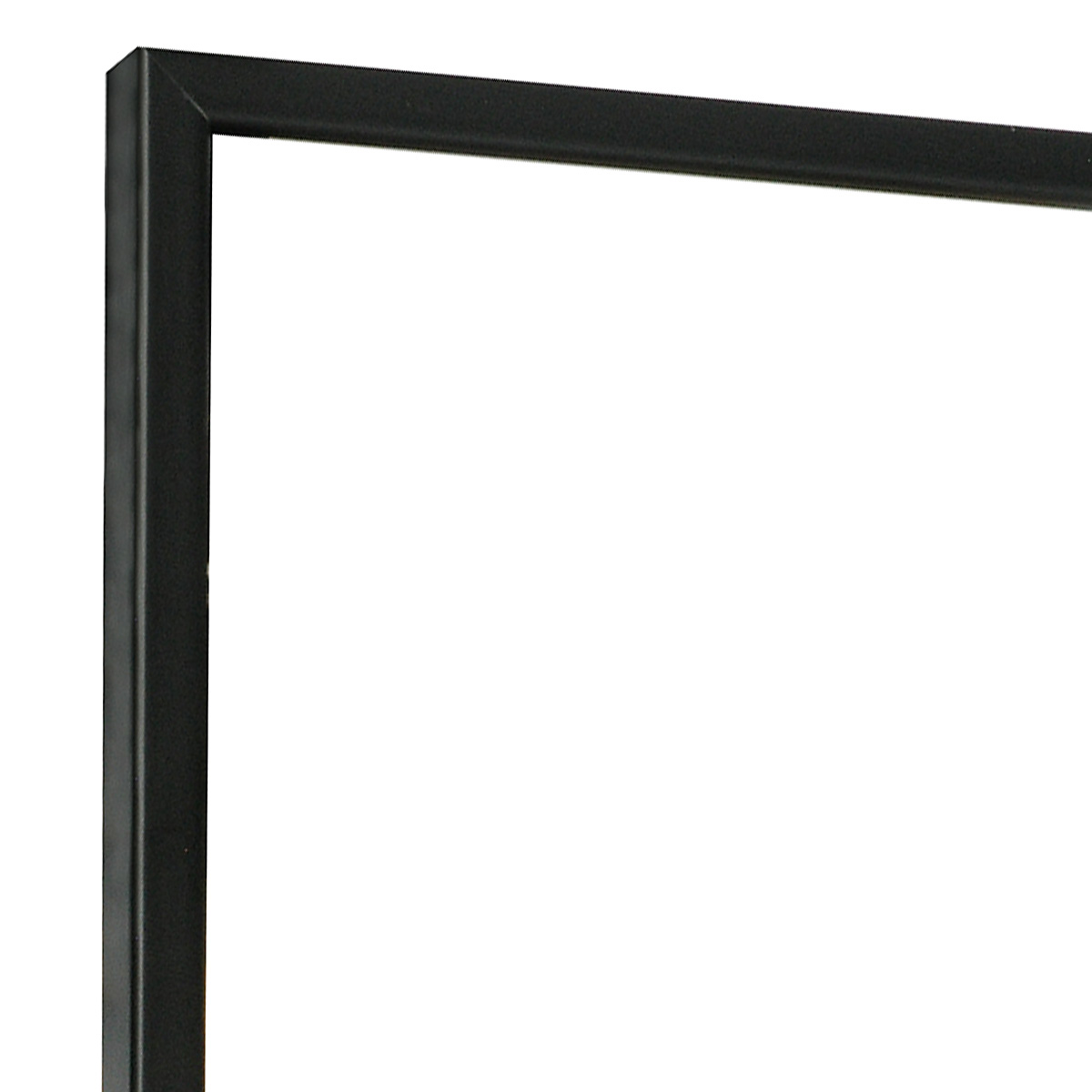 Moulding ramin width 10mm height 14 - matt black