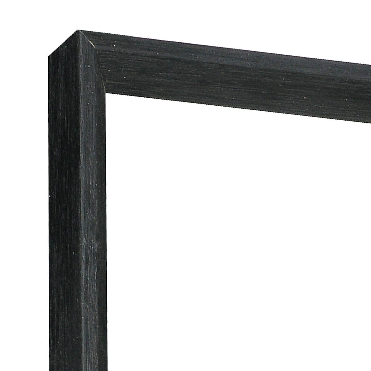 Moulding ayous 25mm height, 14mm width, black