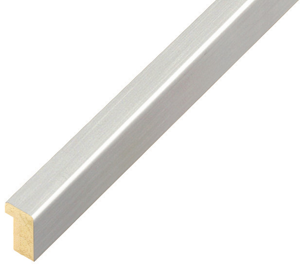 Moulding Ramin width 10mm height 14 - silver