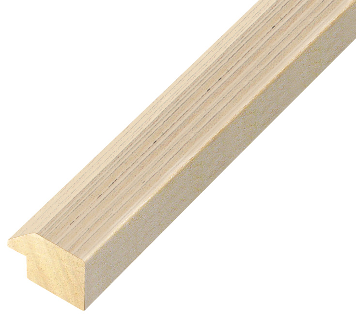 Moulding ayous, width 28mm height 20 - Cream