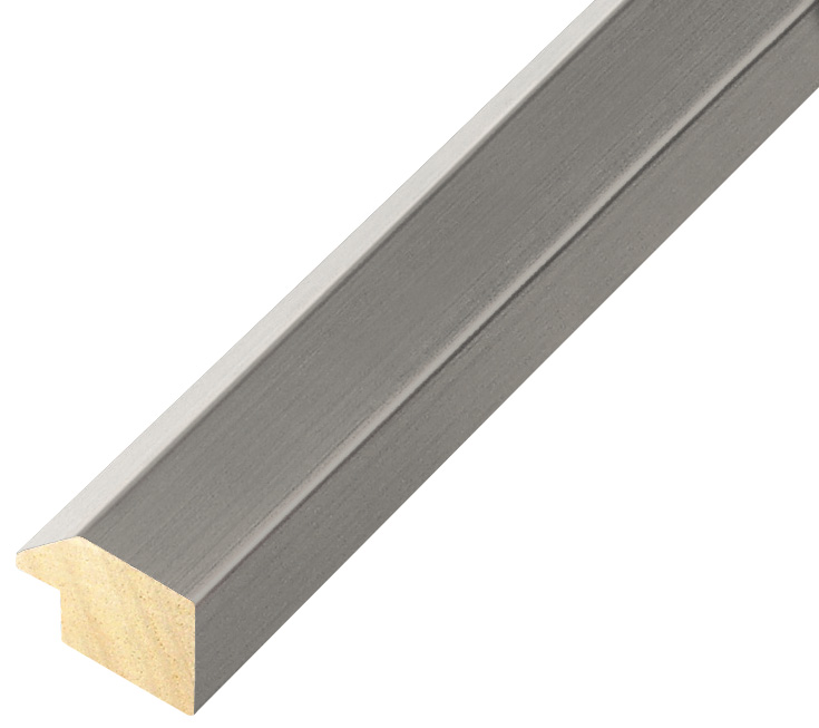 Moulding ayous, width 28mm height 20 - Smoke