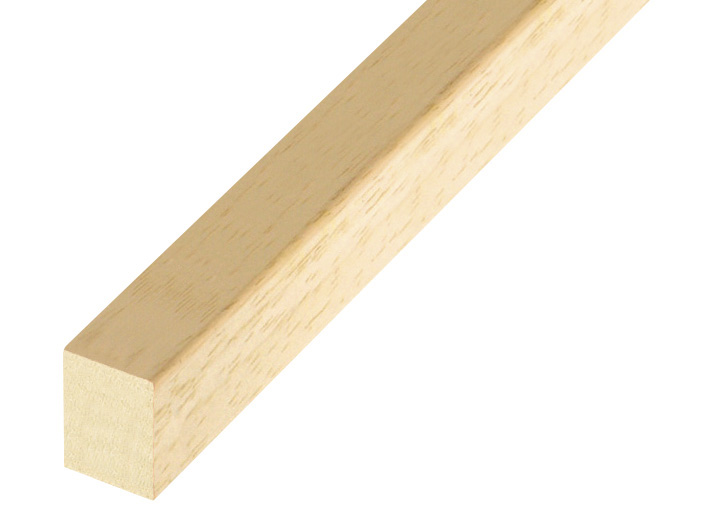 Ayous strips mm 15x20 - bare timber