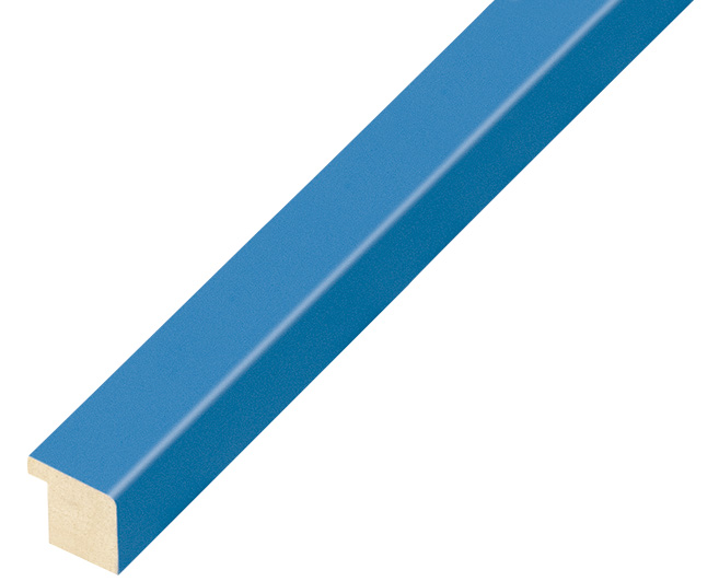 Moulding ayous width 15mm height 14 - light blue