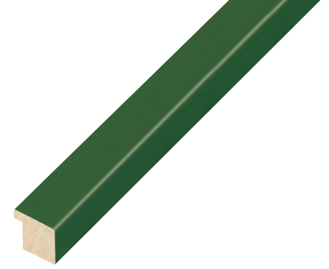 Moulding ayous width 15mm height 14 - olive
