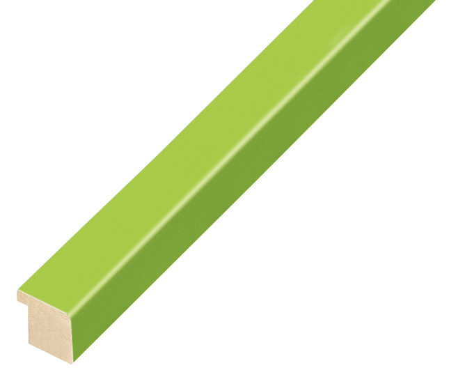 Moulding ayous width 15mm height 14 - light green