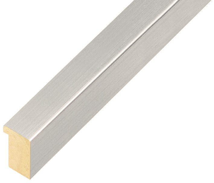 Moulding ayous, width 15mm height 20 - Silver