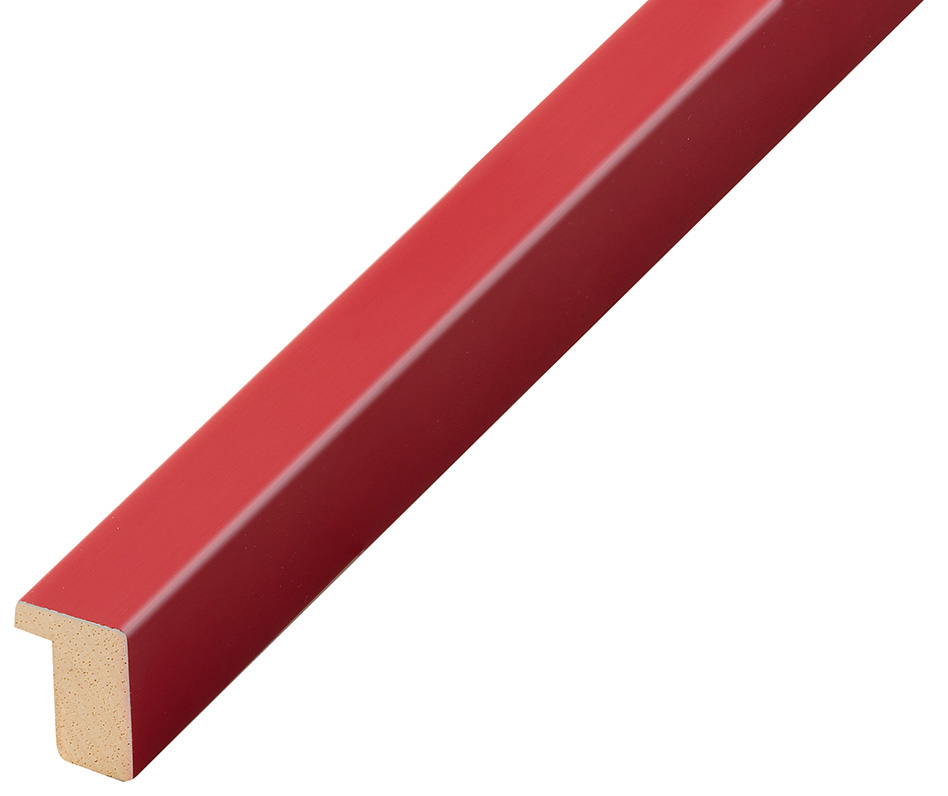 Moulding ayous, width 15mm height 20 - Red