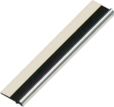 Slip plastic, silver, with double-side adhesive tape