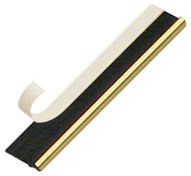 Slip plastic, gold, with double-side adhesive tape