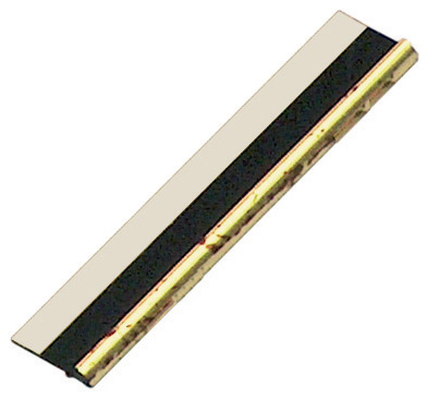 Slip plastic, cracked gold, with double-side adhesive tape