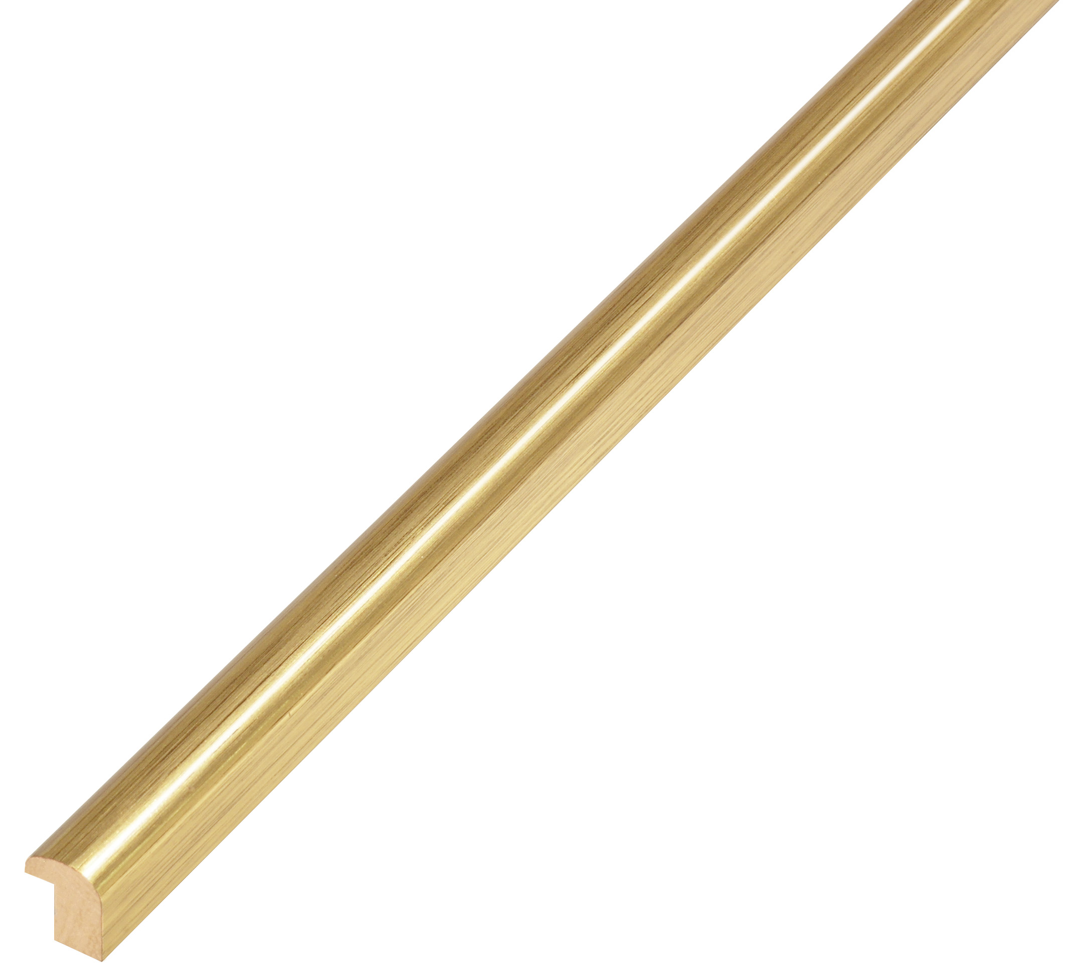 Moulding ramin - width 11mm height 13 - gold