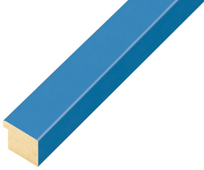 Moulding ayous, width 20mm height 14 - Light Blue