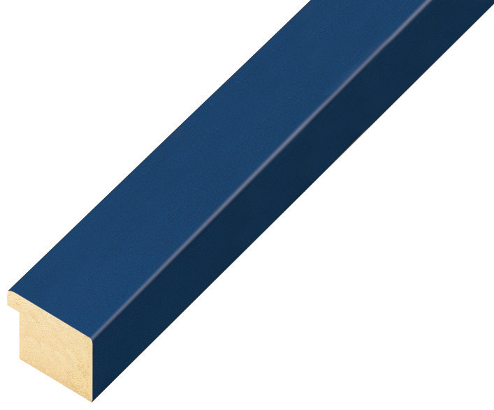 Moulding ayous, width 20mm height 14 - blue