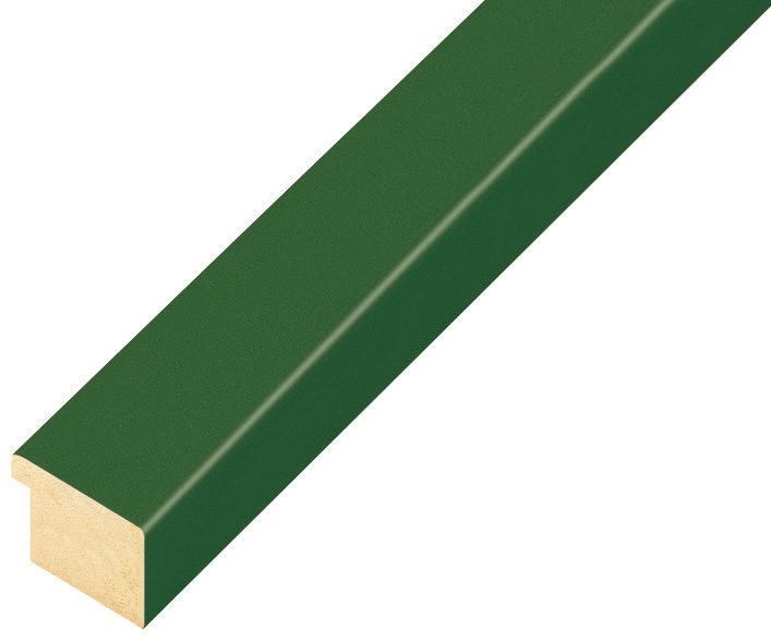 Moulding ayous, width 20mm height 14 - Olive