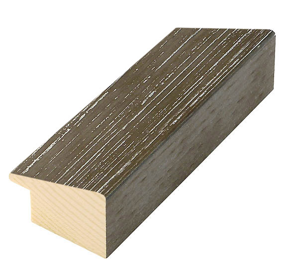 Moulding fir 28mm - matt finish, walnut (mt 22)