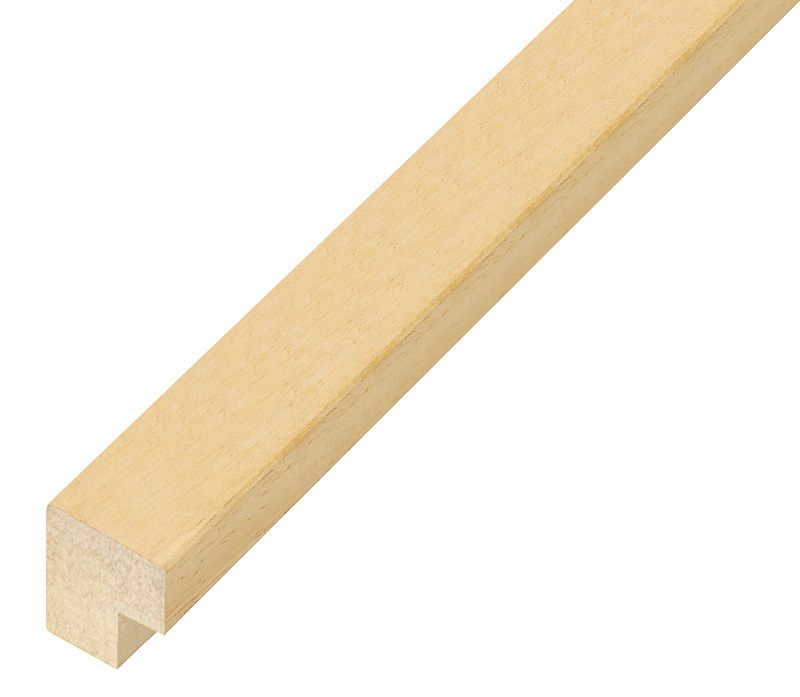 Moulding ayous, width 20mm height 23 - Bare wood