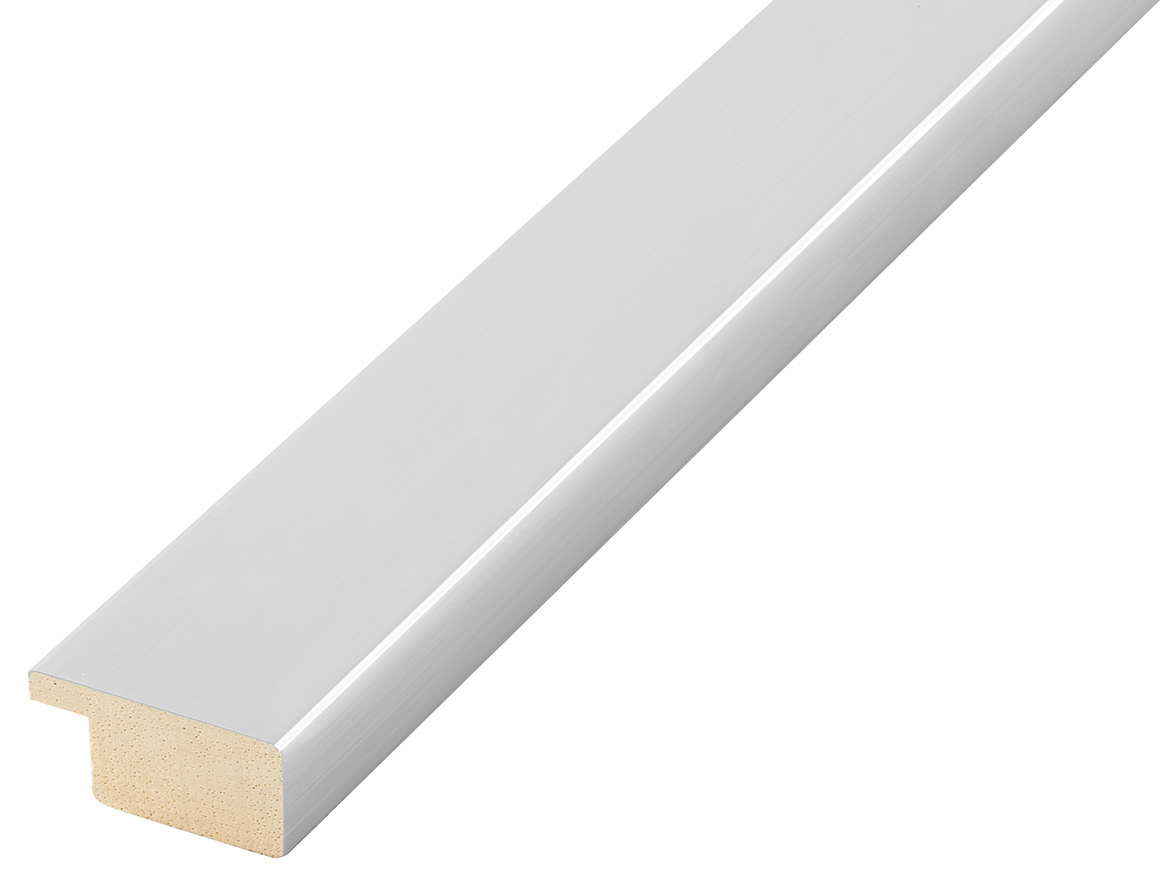 Moulding ayous, width 30mm height 14 - silver