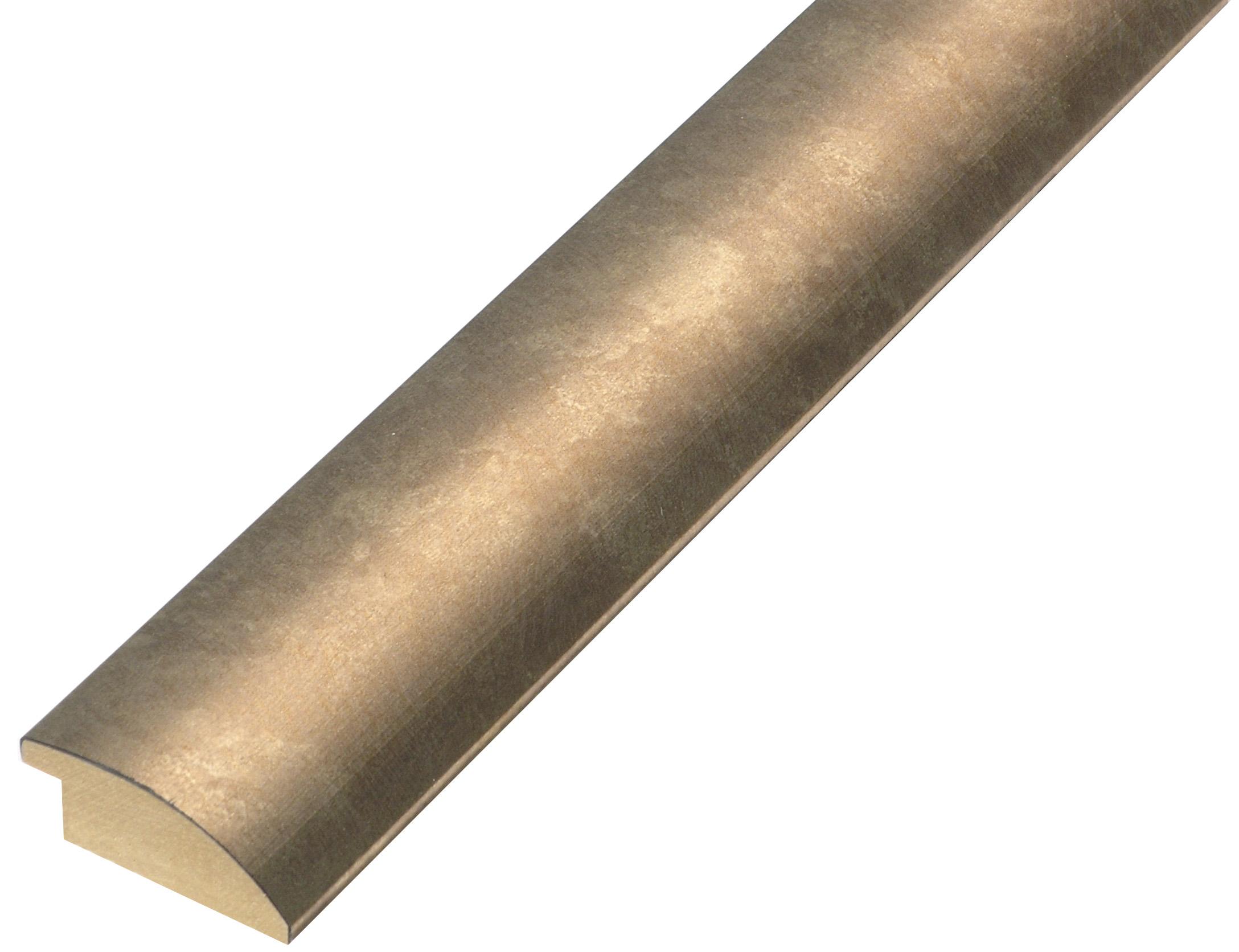 Moulding ayous, width 35mm - bronze finish