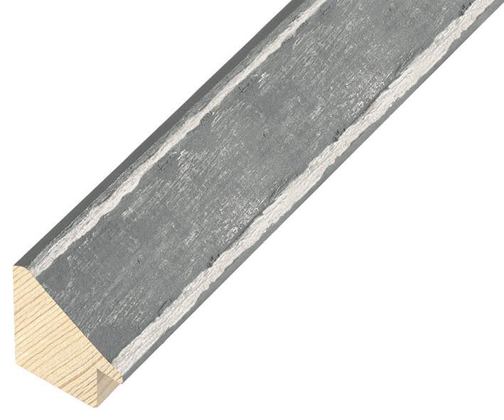 Sample 20cm of moulding 347GRIGIO