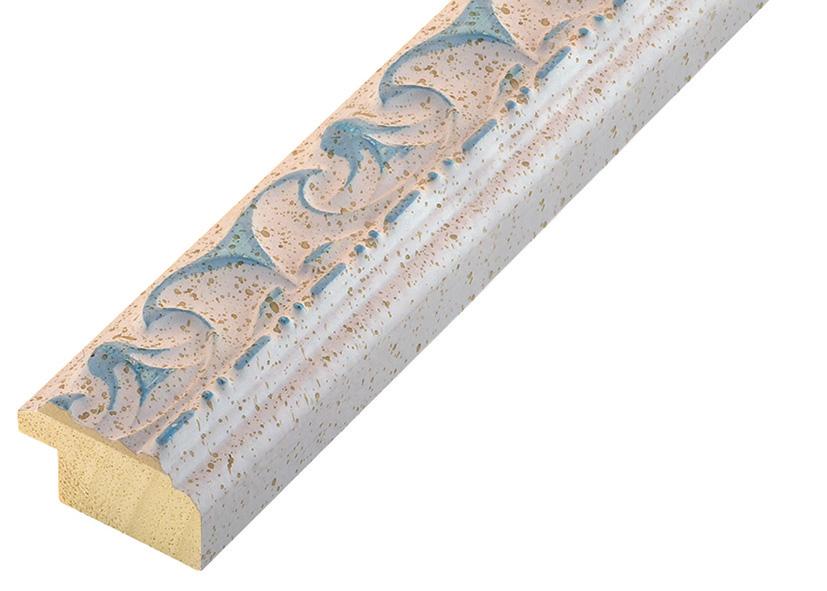 Corner sample of moulding 355AZZ