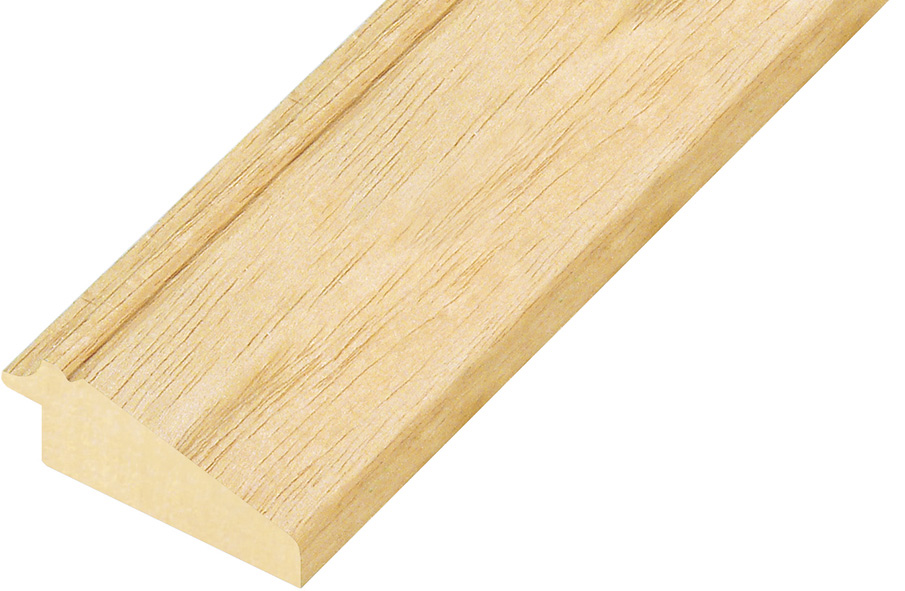 Moulding ayous, width 56mm, height 24mm, bare timber