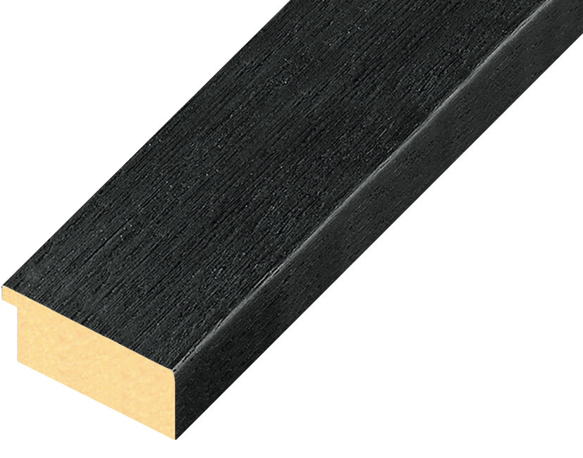 Straight sample of moulding 42NERO