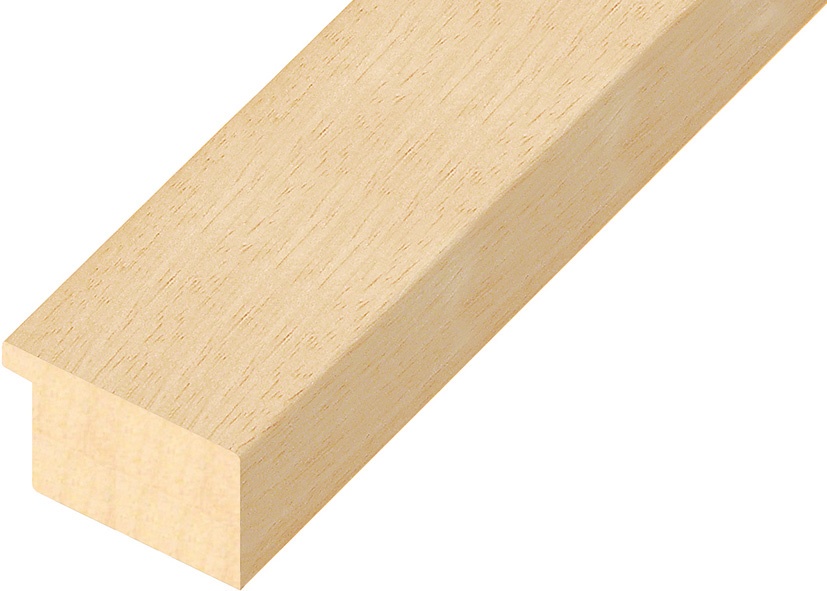 Moulding ayous, width 50mm, height 32mm, bare timber