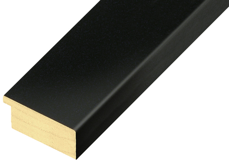 Straight sample of moulding 50NERO