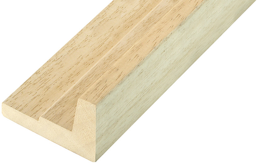 Moulding ayous Width 54mm Height 36 L-shaped
