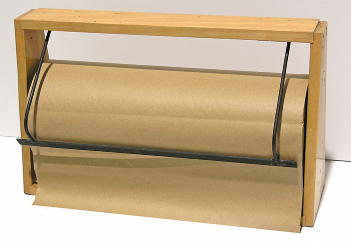 Paper roll holder for 50 cm wide paper rolls - second hand