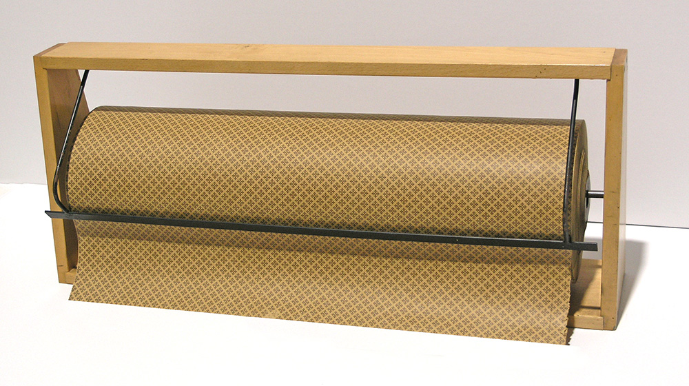 Paper roll holder for 70 cm wide paper rolls - second hand