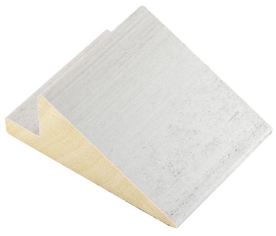 Moulding ayous L shape, width 94mm - Cream