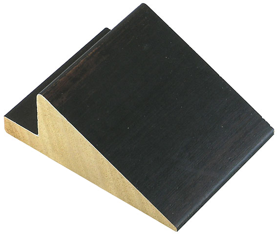Corner sample of moulding 597NERO