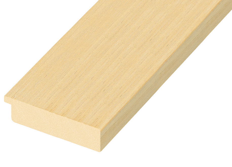 Moulding ayous, width 60mm, height 24mm, bare timber