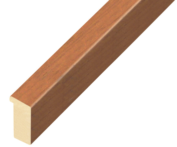 Moulding ayous, width 15mm height 25 - cherry